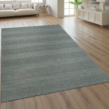 Wool Rug Plain Colours Scandinavian Grey – Bild 1