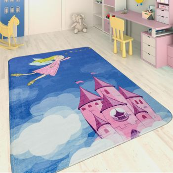 Children's Rug Magical Fairy blue – Bild 1
