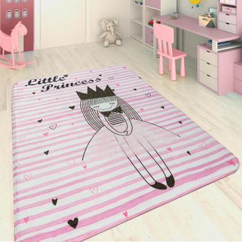 Children's Rug Little Princess Pink – Bild 1