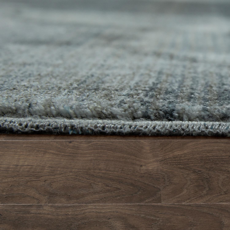 vintage teppich abstraktes design grau silber design teppiche. Black Bedroom Furniture Sets. Home Design Ideas