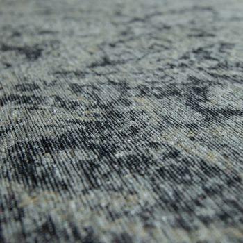 Tappeto tessuto liscio effetto vintage, grigio argento – Bild 3