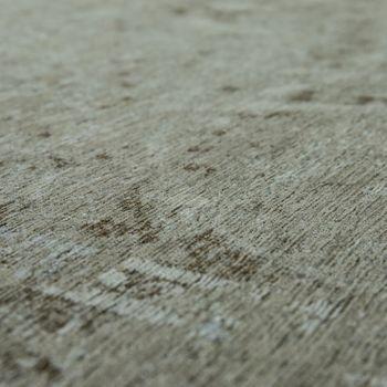 Rug Flat Woven Vintage Look Taupe – Bild 3