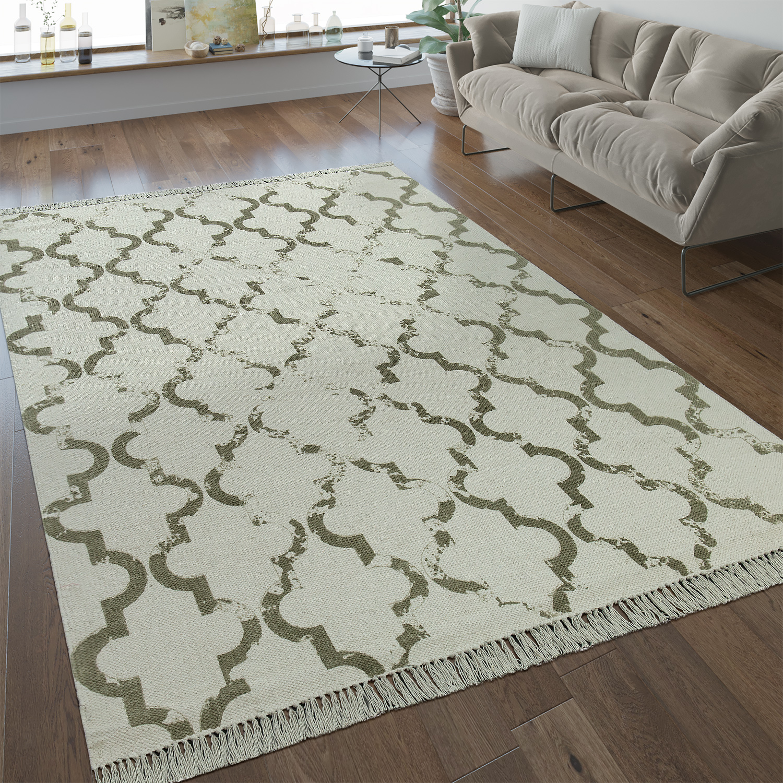 flachgewebe teppich marokkanisches muster teppichcenter24. Black Bedroom Furniture Sets. Home Design Ideas