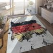 Indoor & Outdoor Rug German Flag 001