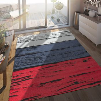 In- & Outdoor Teppich Russische Flagge