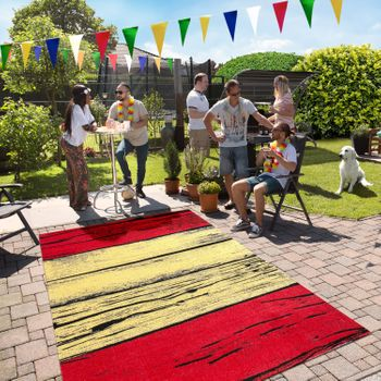 Indoor & Outdoor Rug Spanish Flag – Bild 4