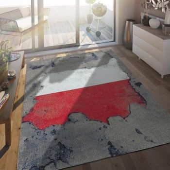 Indoor & Outdoor Rug Polish Flag
