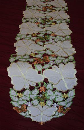 Bunte Schmetterlinge Stickerei - Serie – Bild 11