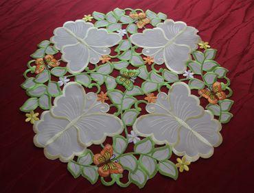 Bunte Schmetterlinge Stickerei - Serie – Bild 5