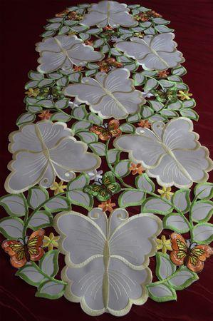 Bunte Schmetterlinge Stickerei - Serie – Bild 9