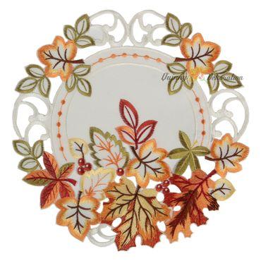Buntes Herbstlaub Stickerei - Serie  – Bild 3