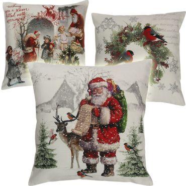 Weihnachtskissenbezüge mit Fotodruck – Bild 1