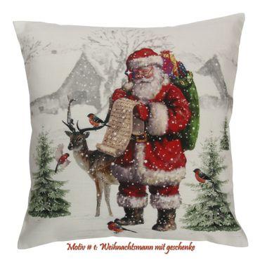Weihnachtskissenbezüge mit Fotodruck – Bild 6