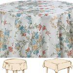 Blumen Landhaus Tischdecke - Serie Bunt 001