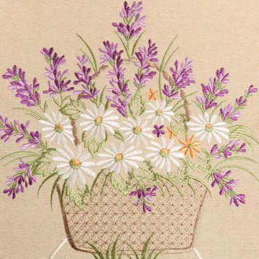 Romantische Lila Lavendel Stickerei Tischläufer Party Küche Heimtextilien Tischdecken Dekoration – Bild 17