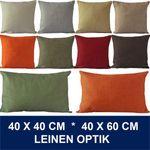 Kissenbezüge in Leinen-Optik 001