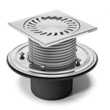 Duschablauf   Badablauf  Bodenablauf 150x150 mm DN110 (386 F)