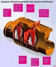 Rückstauverschluss mit verriegelbarer Rückstauklappe  DN50   Typ 4 50  Bild 3