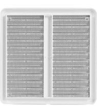 Lüftungsgitter 150x150mm Abluftgitter aus ASA Kunststoff mit Insektenschutz weiß Bild 3