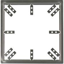 Revisionstür 300x300 mm Revisionsklappe aus Edelstahl gebürstet mit Einbaurahmen Bild 4