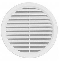 Kunststoff Lüftungsgitter Deckmaß160mm Flansch/Rohranschluß Insektenschutz VM140