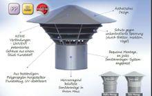 Entlüftungshaube Dunsthut Dachentlüfter Univent DN 110  110mm auf Rohr Bild 4