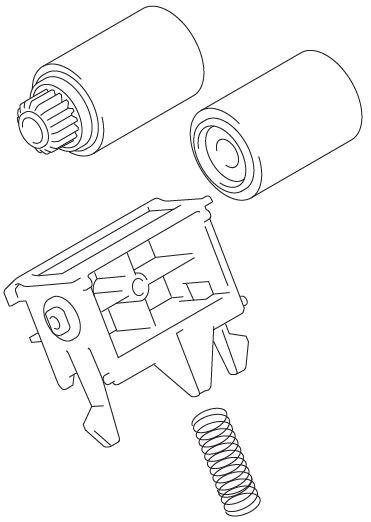 Brother Roller Kit für LT-330CL / LT-340CL / MFC-L9570CDW Serie PZ-Kit 2