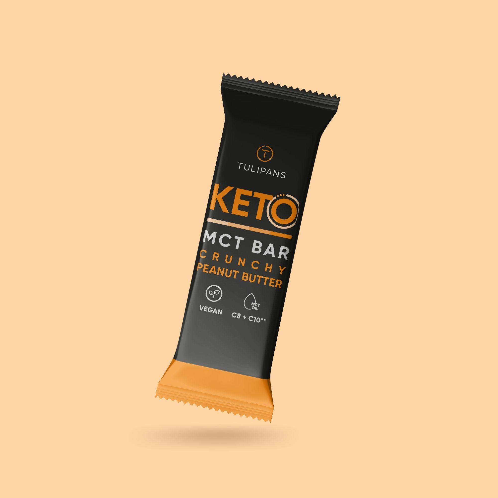MCT Bar Crunchy Peanut Butter 50g