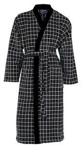 Frottee-Velour Bademantel CHARLY von VAL DE VILLE, Kimonoform 380 g/m² – Bild 1
