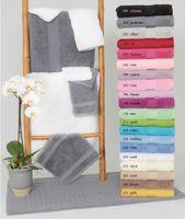 Frottee Handtücher VENEZIA 50x100 cm von VAL DE VILLE, diverse Farben (3er Pack) 001