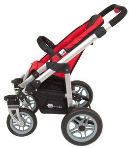 Travelsystem Kombikinderwagen + Babyschale A035K von UNITED-KIDS, Red-Black – Bild 6