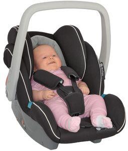 Babyschale Autokindersitz Cocomoon, Gruppe 0+, 0-13 kg, blau-schwarz – Bild 6