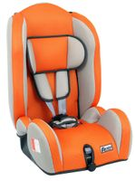 Autokindersitz Kidstar von UNITED-KIDS, PM Orange 01 - Grey 05, Gruppe I/II/III, 9-36 kg 001