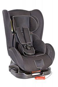 Autokindersitz Premium Deluxe von UNITED-KIDS, schwarz, mit atmungsaktivem Stoffbezug, Gruppe 0+/I, 0-18 kg – Bild 1