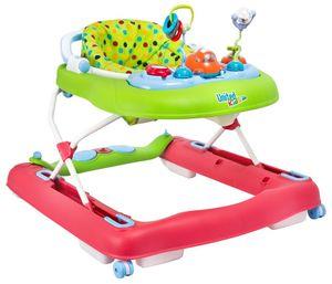 Gehfrei / Lauflernhilfe / Baby Walker mit Gehlernfunktion + Musik Multicolor – Bild 1