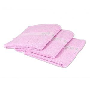 Frottee Handtücher Pearl 50x100 cm von VAL DE VILLE,  (3er Pack) Farbe: rose (232) – Bild 1