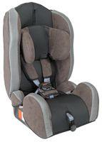 UNITED-KIDS Autokindersitz Kid Comfort Gruppe I/II/III 9-36 kg Braun Grau 001
