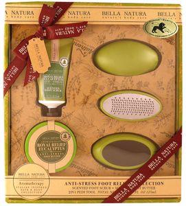 Bella Natura No. 76, Eukalyptus, Beauty & Wellness, Fußpflege Geschenkset  (6-teilig) von Raphael Rosalee Cosmetics