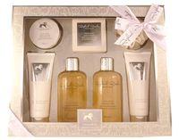 Embassy Deluxe No. 180, Jojoba & Mandel, Beauty & Wellness Geschenkset, (7-teilig) 001