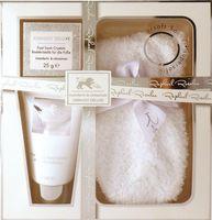 Embassy Deluxe No. 184, Badekristalle für die Füße, Fußpflege Geschenkset (3-teilig) 001