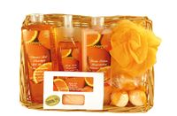 Fruits of Paradise No. 1, Orange, Beauty & Wellness Geschenkset, (6-teilig) 001