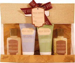 Bella Natura No. 80, Vanille & Honig, Beauty & Wellness Geschenkset (4-teilig) von Raphael Rosalee Cosmetics