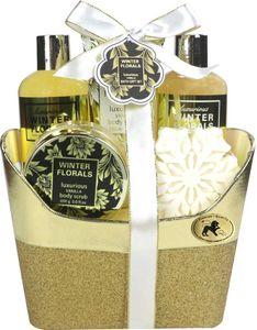 Embassy Deluxe No. 251, Vanille & Weiße Blumen, Beauty & Wellness Geschenkset (4-teilig) von Raphael Rosalee Cosmetics