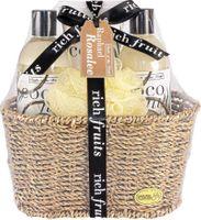 Fruits of Paradise No. 77, Kokosnuss, Beauty & Wellness Geschenkset (4-teilig) von Raphael Rosalee Cosmetics 001