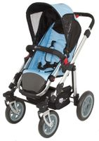 Sportwagen A035K von UNITED-KIDS, Design Lightblue-Black 001