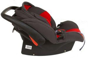 Babyschale Protect von UNITED-KIDS Gruppe 0+ 0-13 kg KN Rot-Grau – Bild 4