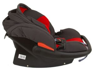 Babyschale Protect von UNITED-KIDS Gruppe 0+ 0-13 kg KN Rot-Grau – Bild 6