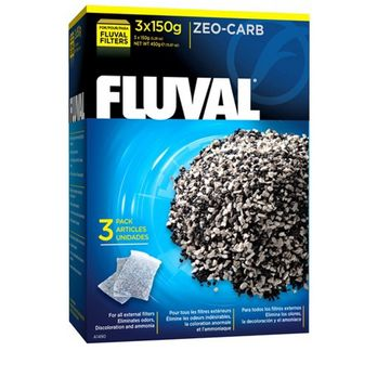 Fluval Zeo-Carb 3 x 150g 001