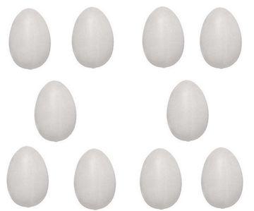 10 Nesteier für Hühner (Gips) 001