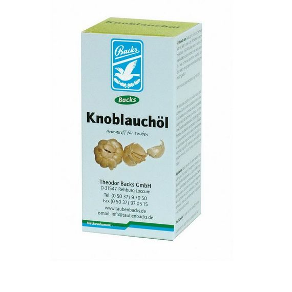 Backs Knoblauchöl 250ml
